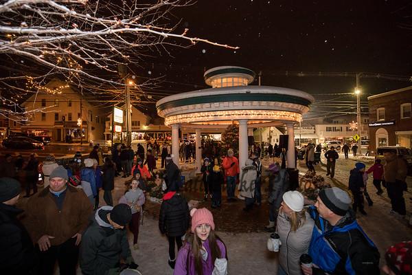 2019-12-6 Hampton Christmas Tree Lighting