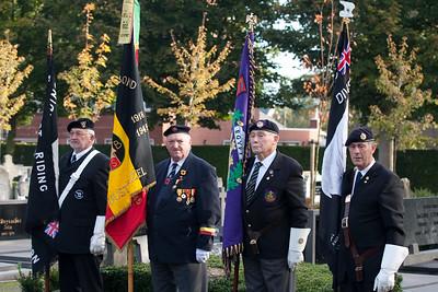 Bevrijdingsherdenking 2009 - Aan de begraafplaats