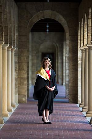 Kylie, Lara and Cotter - Graduation pics