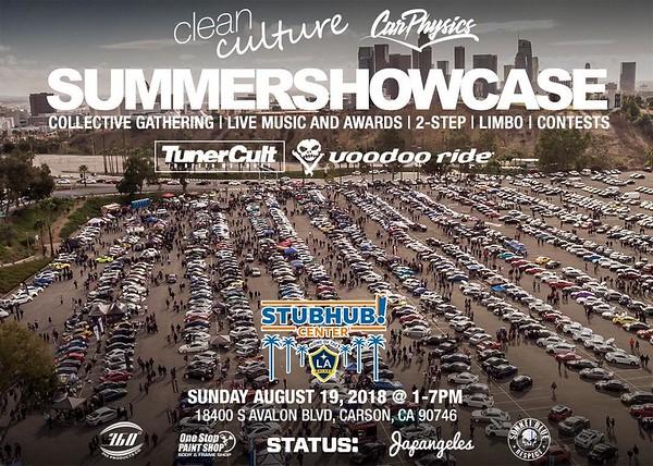 Summer Showcase 2018