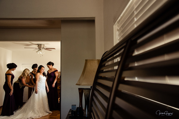 Sophia & Lewis Bride get ready
