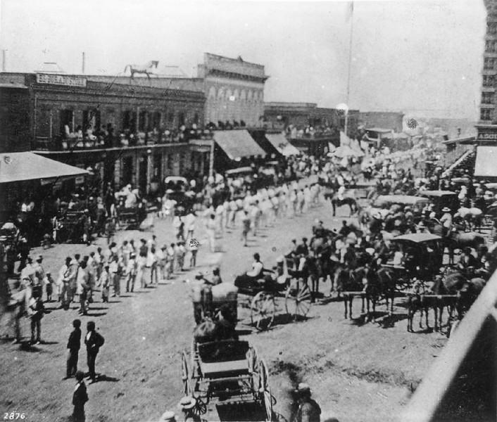 La Fiesta de Los Angeles, 1875