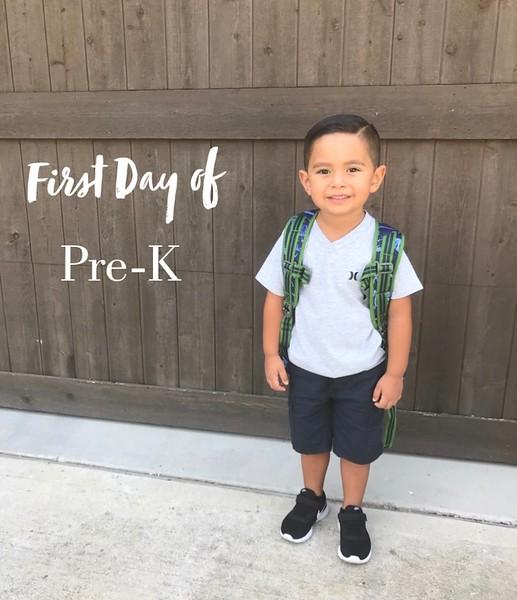 Kevin | Pre-k | Faubion Elementary School