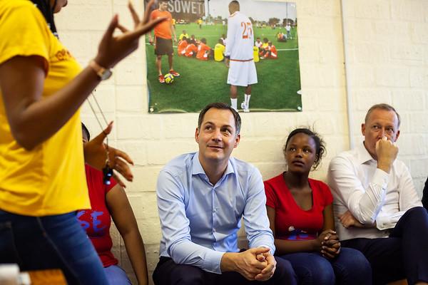 World AIDS Day UNAIDS Visit, DPM Belgium