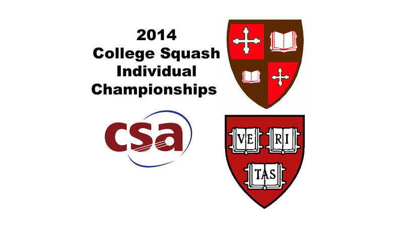 2014 College Squash Individual Championships