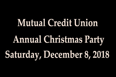 2018-12-08 Mutual Credit Union Party