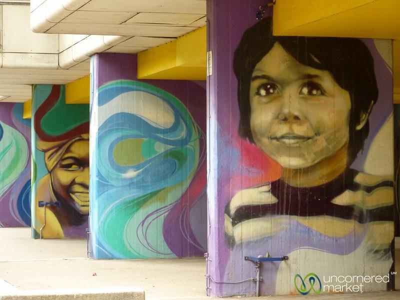 Housing Complex Full of Street Art - Berlin, Germany