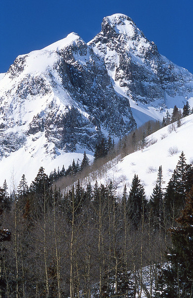 Snowy Peak in the San Juans