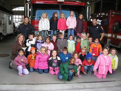2009 Ruhala Kindergarten Fire Station Field Trip