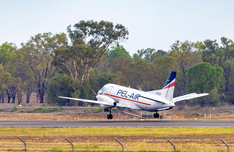 SAAB Fairchild 340A VH-KDB at Rockhampton Airport
