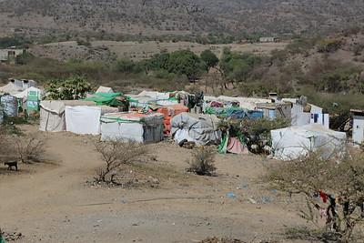 IDPs in Al-Dar Al-Jadeed's camp use firewood