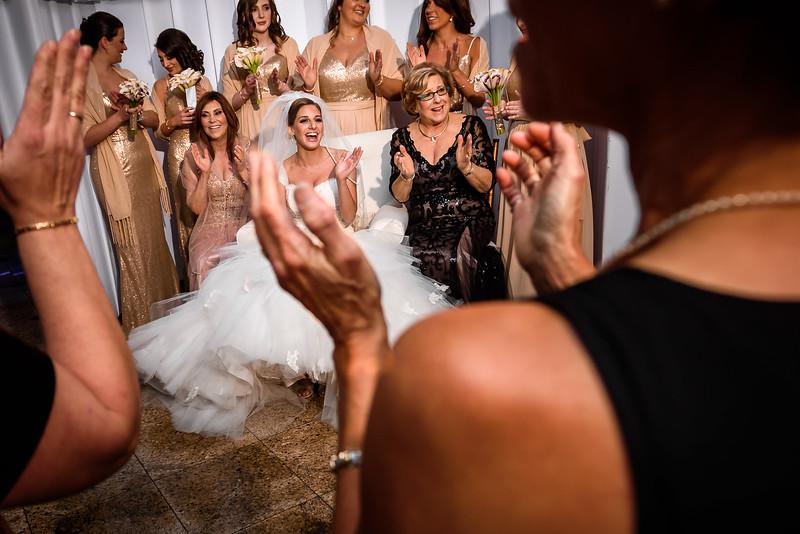 NNK-Amanda & Harry's NYE Wedding - Congregation B'Nai Tikvah - Tisch, Bedeken & Ketubah Signing-143.jpg