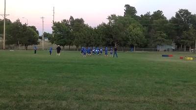 2013-09-24 AJ Football Practice