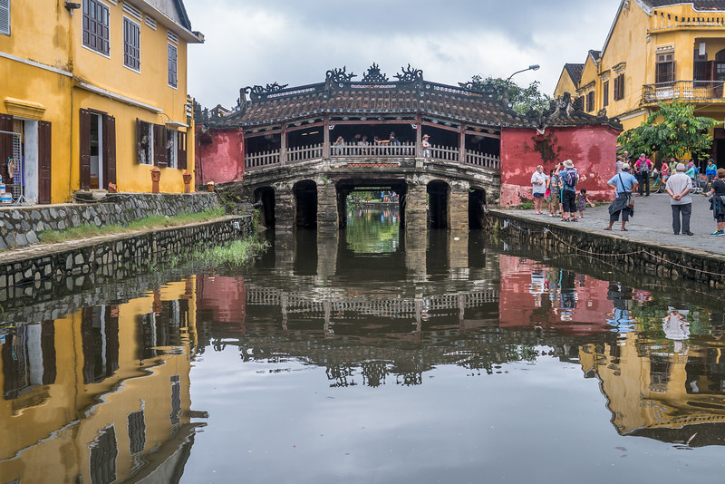 The Japanese Bridge in Hoi An.