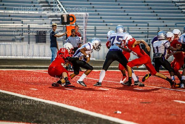 J.V. Cougar Football