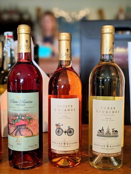 Petite Riviere Winery bottles.jpg