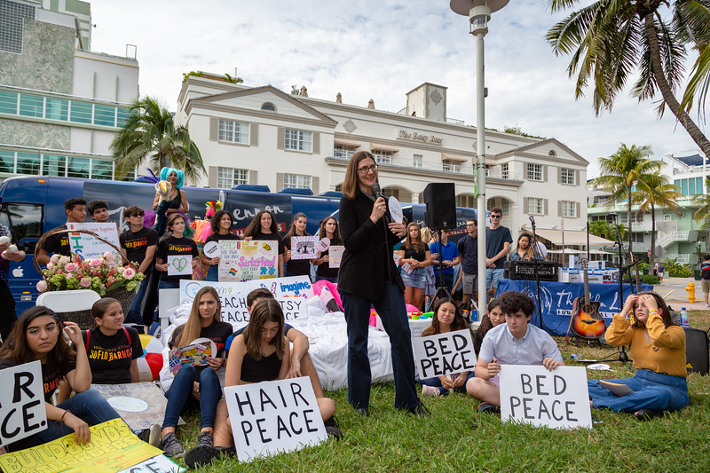 2018_11_03, Andy Cabrera, Beach, Beach Bed In, Bed In, Bed In on the Beach, Bus, Come Together, Come Together Miami, Diana Rodriguez, Exterior, FL, Florida, Jen Soule, Miami, Miami Beach, The Betsy, The Betsy Hotel