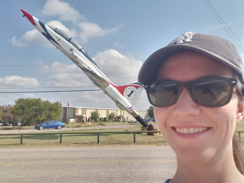 T-38 at Mineral Wells Airport