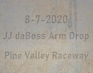 8-7-2020 Pine Valley Raceway 'JJs Arm Drop