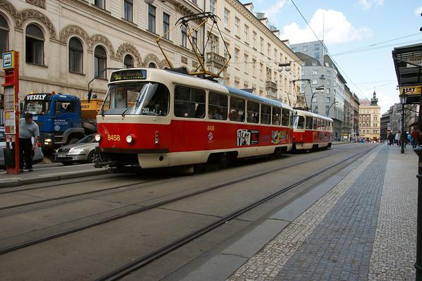Praag 2008, dag 3, verblijf in Praag
