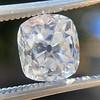 2.03ct Antique Cushion Cut Diamond GIA G SI1 9