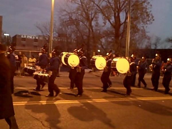 Hamilton High Drumline, Parade.jpg