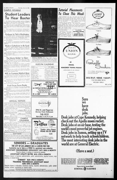Daily Trojan, Vol. 57, No. 29, October 28, 1965