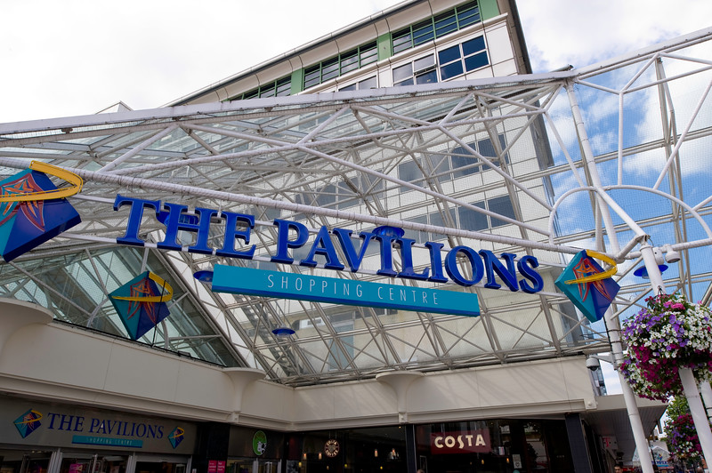 The Pavilions Shopping centre, Uxbridge, Middlesex, United Kingdom