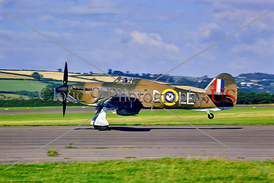 British RAF Hawker Hurricane Military Airplane Pictures