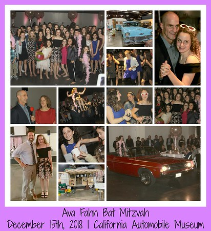 Ava Fahn Bat Mitzvah | DECEMBER 15TH, 2018