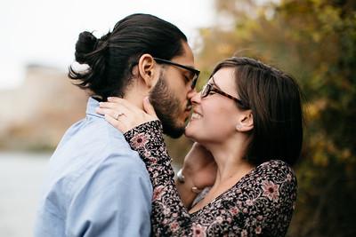 Hannah and Caleb