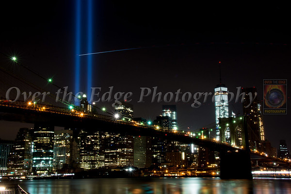 September 11th Memorial Lights 2015
