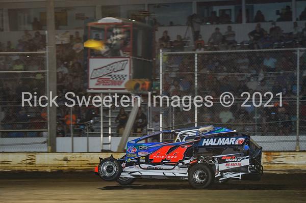 7/29 SuperDIRTcar 100 lap race