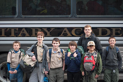 May 3, 2014 - West Point Camporee