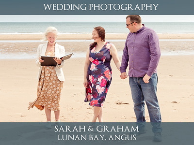 Sarah & Graham - Lunan Bay - Wedding Photography