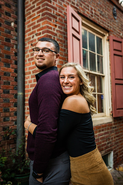MICHELLE AND NICK - OLD CITY ENGAGEMENT SESSION - 38.jpg