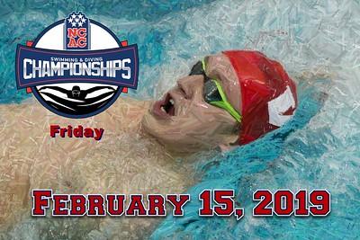 2019 Friday NCAC Championships (02-15-19)