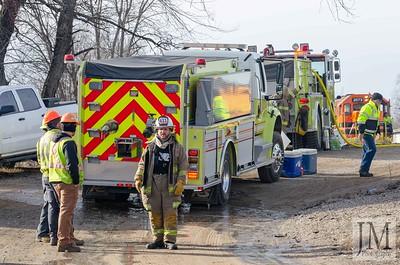01-22-20 West Lafayette - Train Car Fire