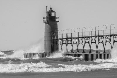 Windy Wednesday South Haven 3 8 17