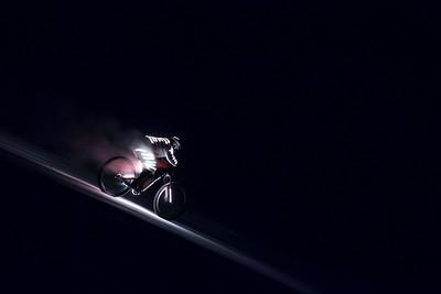 Éclair, full moon ride with Éric Barone / Vars, France, 2016