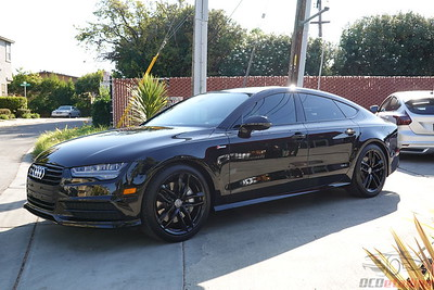 Audi A7 - Black - CQuartz Finest Reserve Ceramic Coating