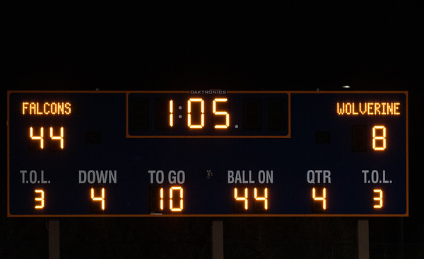 High School Football-2020 (Games played in 2021 due to the COVID-19 pandemic)