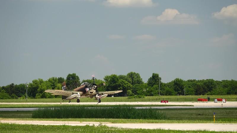 A-1 Skyraider Takeoff.MP4