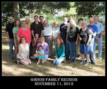 Girson Family Reunion