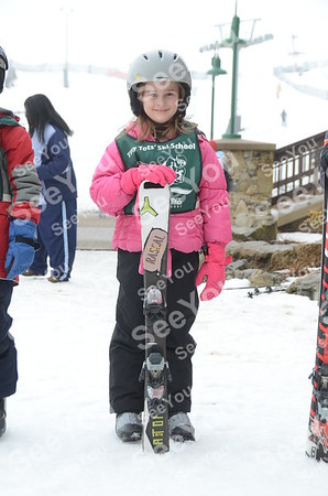Tiny Tots Ski School 3-16-13