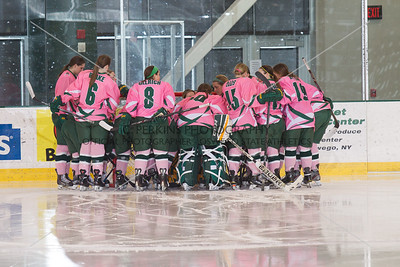 Women's Hockey Pink the Rink 2016