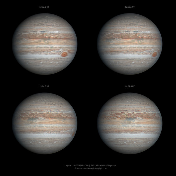 Jupiter on September 23