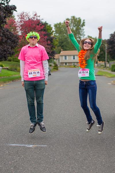 Alex and Lena FINALLY Finish!