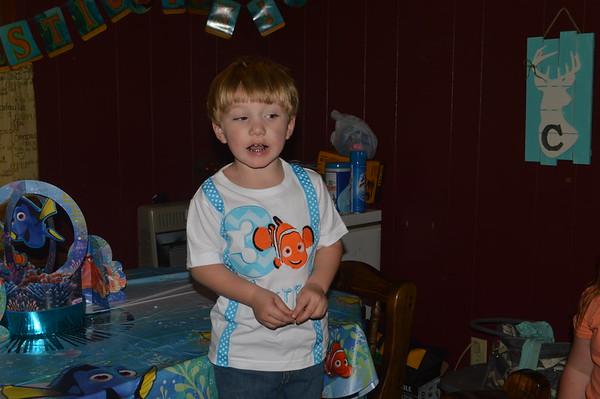 Jaxtin's 3rd birthday party