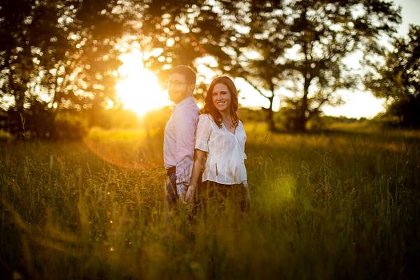 Dan and Sarah Engagement shoot